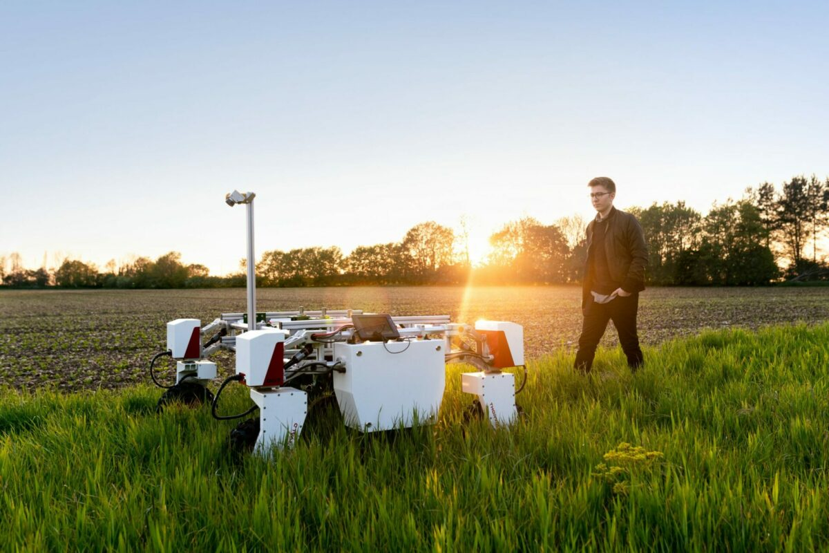 Farming engineering promoting its robotic technology