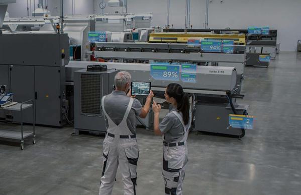 AR in industrial context